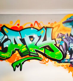 Scottish Graffiti Murals