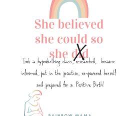 Rainbow Mama Hypnobirthing and Positive Birth Support