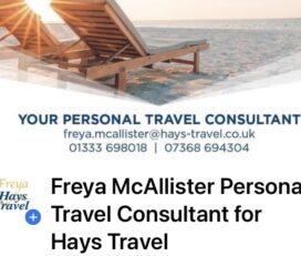 Freya McAllister Personal Travel Consultant for Hays Travel