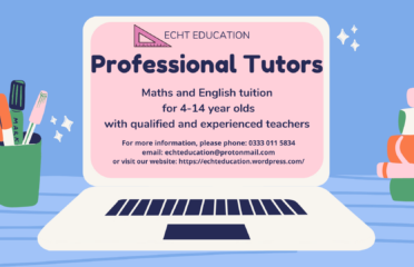 Maths and English Tutor